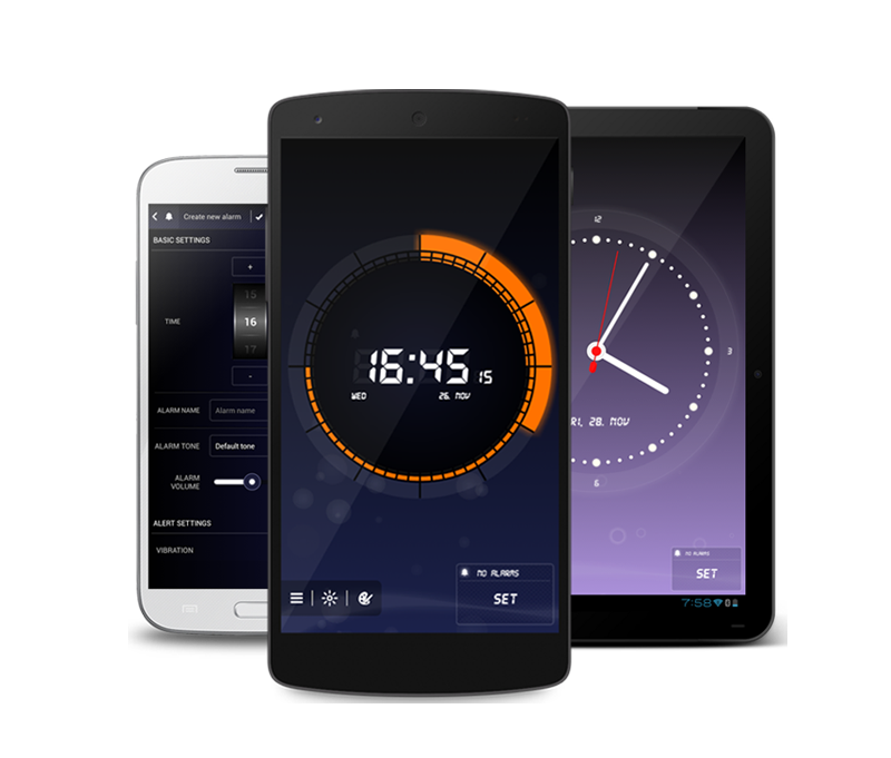 Sat sa alarmom za Android