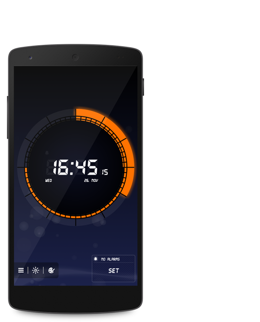 soft alarm clock smart telefon