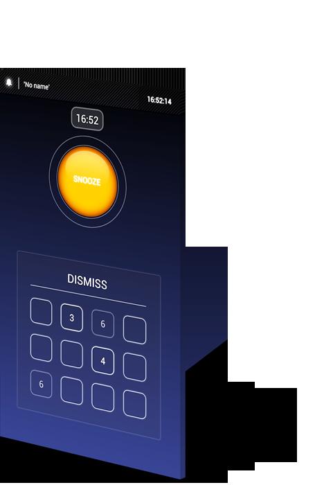 Soft alarm clock - igra memorije